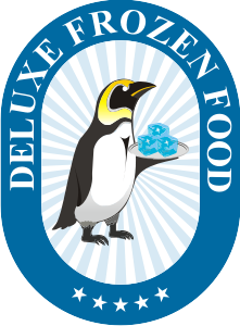 Deluxe Frozen Food Logo